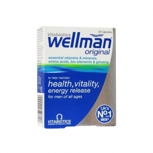 Vitabiotics Wellman Original-30Serv.-30Caps.